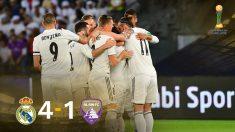 El Real Madrid, campeón del mundo por séptima vez.