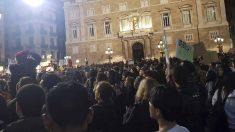 Manifestación contra la Guardia Urbana. Foto: EP