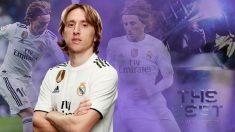 Luka Modric está viviendo sus mejores semanas del año.