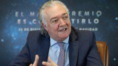El presidente de la Sociedad Estatal de Loterías y Apuestas del Estado (SELAE), Jesús Huerta. Foto: Europa Press