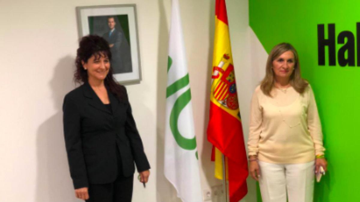Inauguración de la primera sede de Vox en Cataluña.