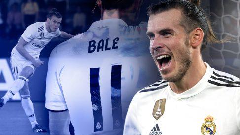 Bale está en su mejor nivel de la temporada con el Real Madrid.