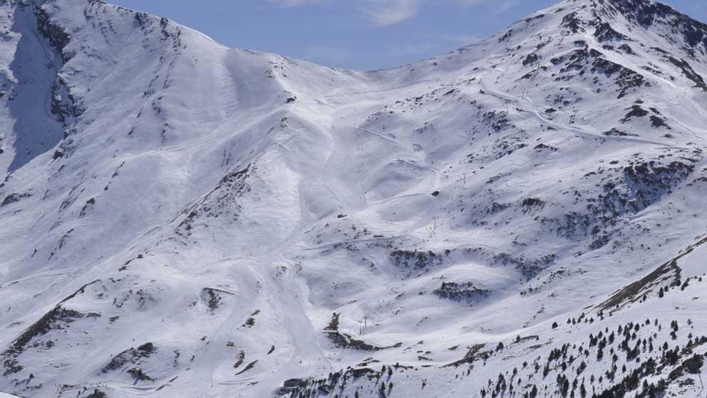 Estación de esquí de Cerler.