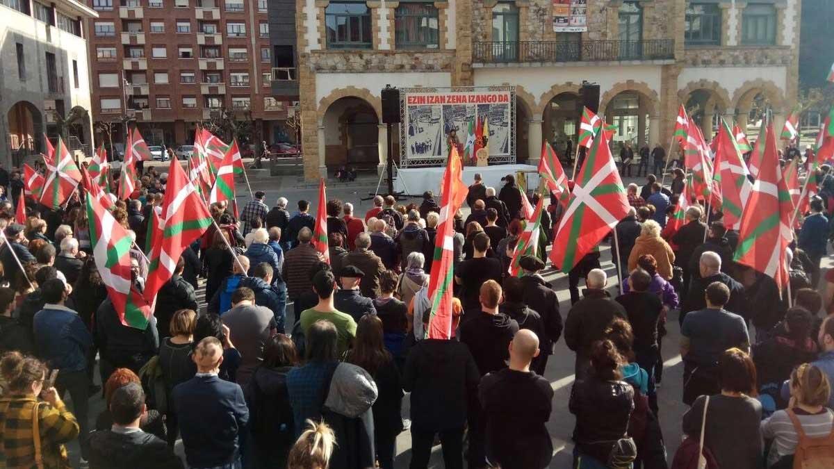 Homenaje al etarra José Miguel Beñaran, 'Argala. Foto: EP