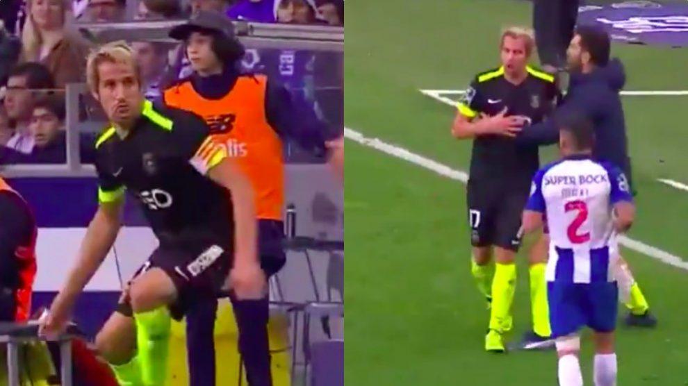 La última de Coentrao: pierde los papeles y le expulsan contra Casillas.