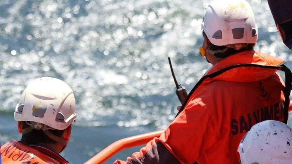 Efectivos de Salvamento Marítimo. Europa Press