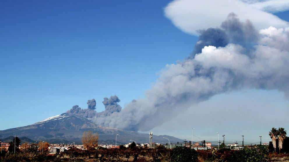 El Etna en erupción (Foto: AFP)