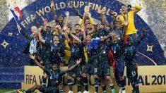 Francia se convirtió en campeona del mundo en el Mundial de Rusia 2018.