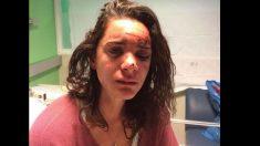 La joven estadounidense agredida y violada