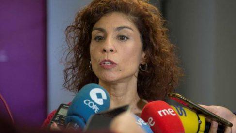 Rosana Alonso (Podemos Cantabria). Fot: EFE