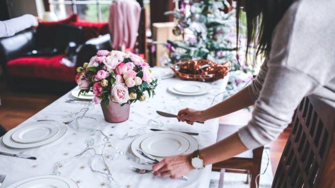 Mesa de la cena