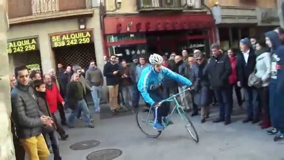 Qué es la carrera del pavo de Segovia
