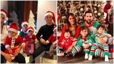Así pasaron la Navidad los Cristiano, Messi y compañía. (Instagram)