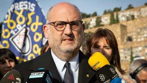 El diputado de Junts per Catalunya (JxCAT) Eduard Pujol (Foto: Europa Press).