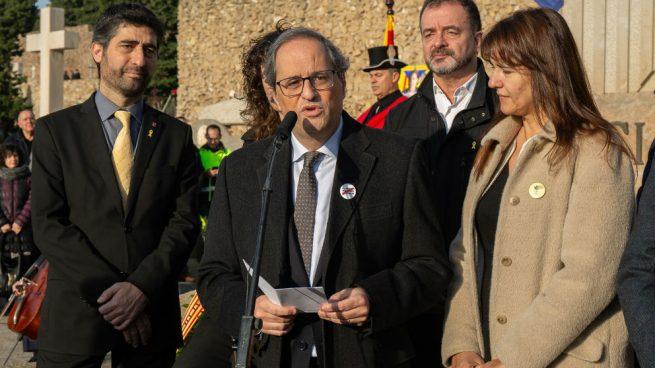 Torra niega que en Cataluña haya un problema de convivencia, en respuesta al Rey
