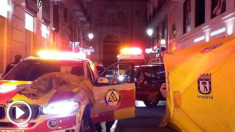 Ambulancias del Samur (Foto: EFE).