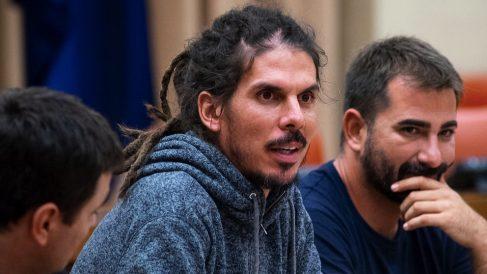 El canario Alberto Rodríguez, diputado de Podemos. (Foto. Podemos)