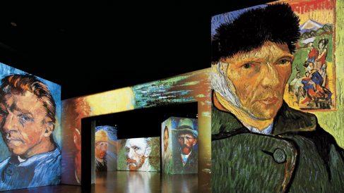 La exposición 'Van Gogh Alive-The Experience'