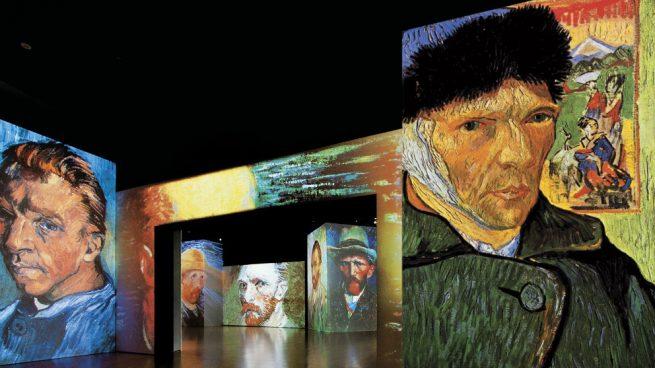 La vida de Van Gogh contada en 3.000 proyecciones llega a Madrid