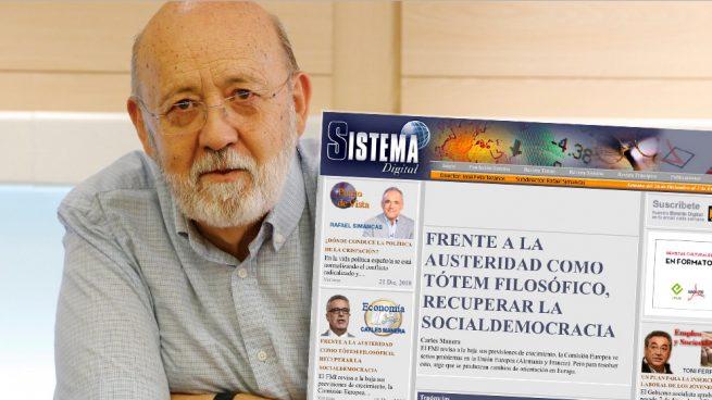 Tezanos y su revista 'Sistema