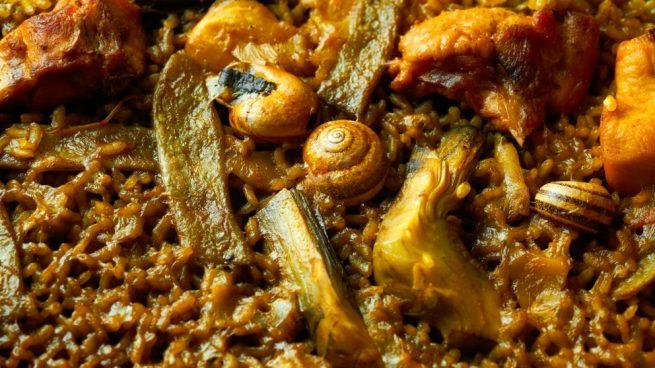 paella de caracoles