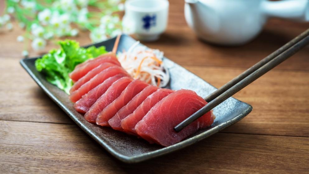 Receta de Sashimi de atún