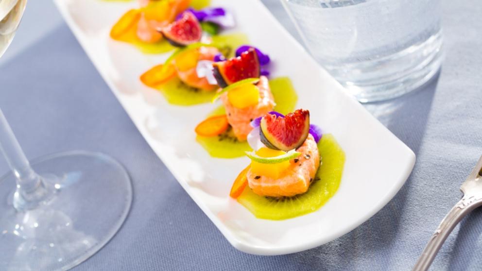 Receta de Trucha marinada