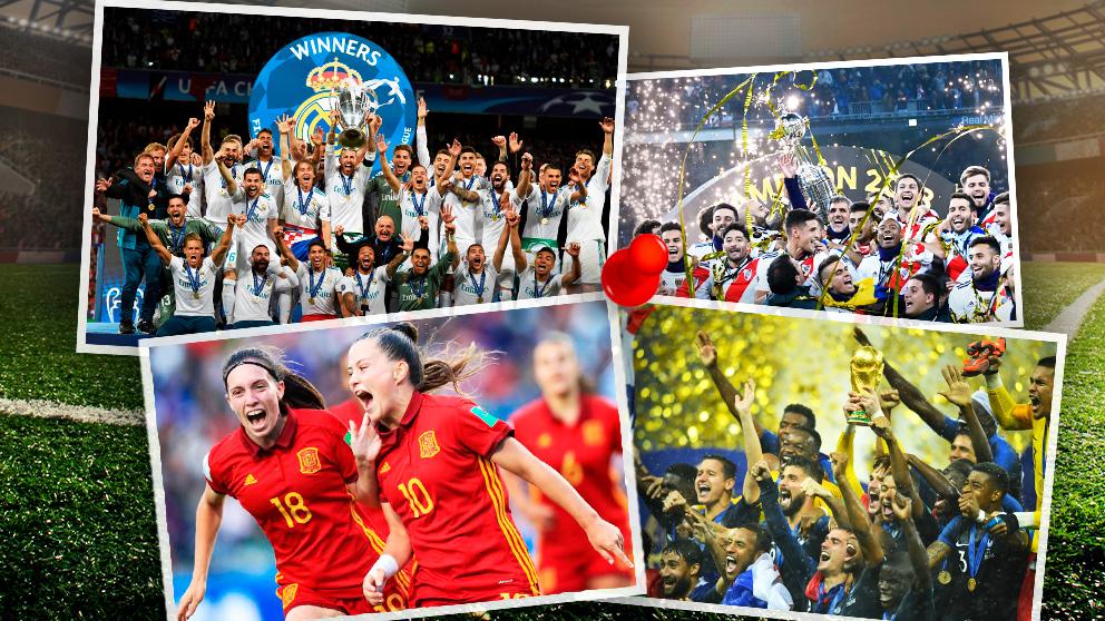 Los mejores de 2018 en el mundo del fútbol.