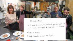 La carta remitida por José María Múgica tras la vergonzosa portada de El Diario Vasco con Idoia Mendia y el terrorista Arnaldo Otegi cenando en Nochebuena.