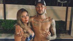 Mari Tavares y Neymar. (@maari.tavares)