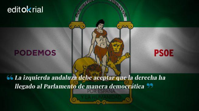 La sobreactuación del PSOE y Podemos en Andalucía