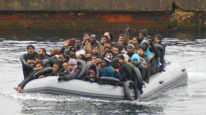 Invasión migratoria Andalucía