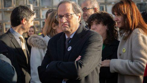 Quim Torra. Foto: Europa Press