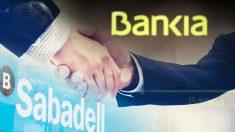 Banco Sabadell y Bankia ante una posible fusión