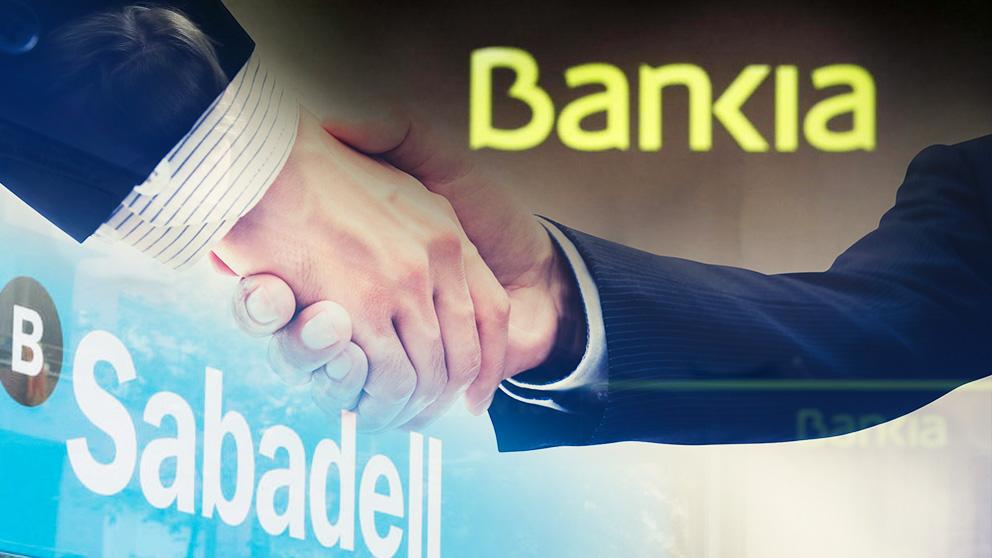 Banco Sabadell y Bankia.