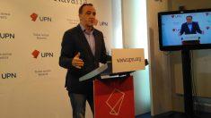 Javier Esparza, presidente de UPN. Foto: Europa Press
