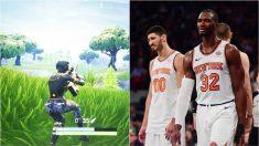 Los jugadores de los Knicks tienen un problema con el Fortnite.