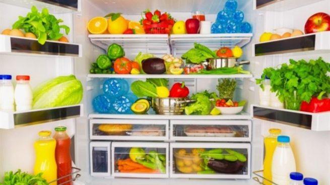 fruta y verduras frescas