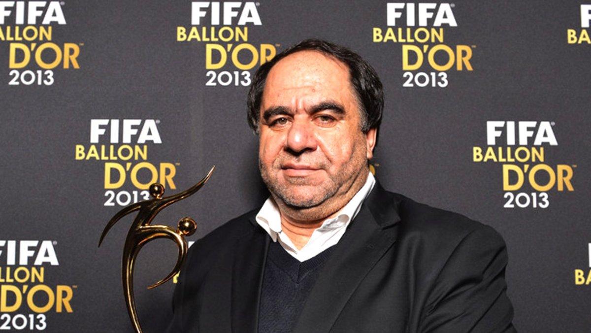Keramuddin Karim, en una fala de la FIFA.
