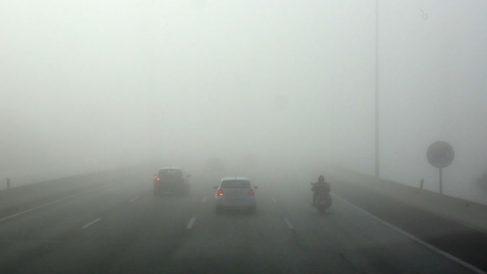 Niebla en las carreteras. Foto: Europa Press