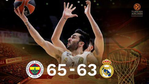 El Real Madrid cayó contra el Fenerbahce.