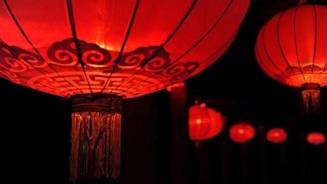 lampara china