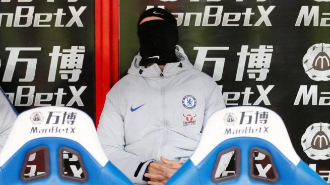 La imagen de Álvaro Morata pidiendo 'a gritos' su salida del Chelsea