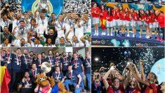 2018, un año repleto de éxitos para el deporte español. (Europa Press)