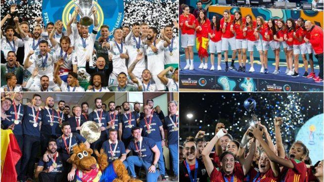 2018, un año repleto de éxitos para el deporte español