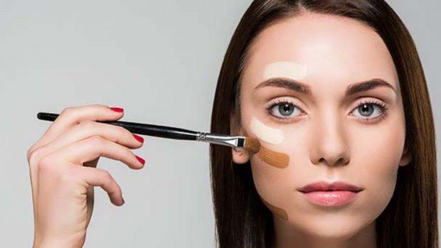 Cómo maquillar una cara redonda
