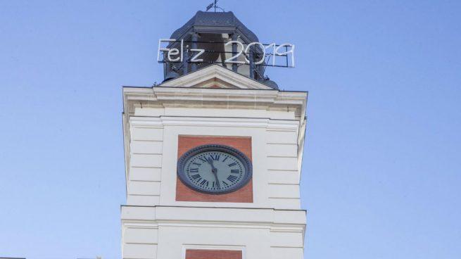 El Reloj De La Puerta Del Sol Se Retrasar Para Recibir