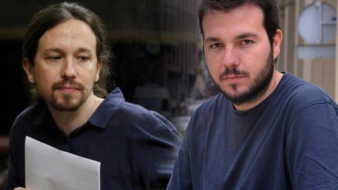 Pablo Iglesias y Toni Carmona