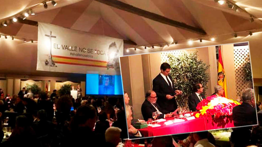 Luis Alfonso de Borbón ha presidido el acto organizado por la Fundación Nacional Francisco Franco (FNFF).