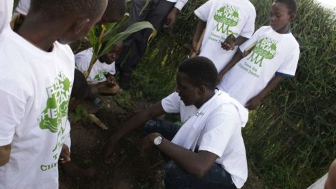 Plant for the planet. Foto: Europa Press